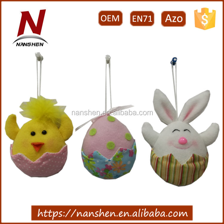 best selling egg and bunny and chicken for easter decoration