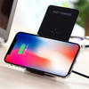 Dual Coil Qi QC 3.0 Wireless Charger Stand For iPhone X 8 Plus Fast Charging Pad for Note 8 S8 Plus S7 S6 Edge
