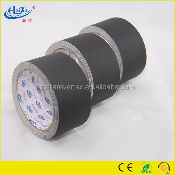 Super Black white color cloth duct tape for book binding protecting