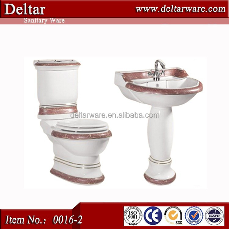 Bathroom Set Western Toilet Price Beauty Spa In Pink Color Product On Alibaba