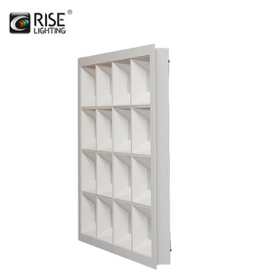 Rise saa led panel 60x60 DALI dimmable led hanging led light panel 103lm/w led grille lighting