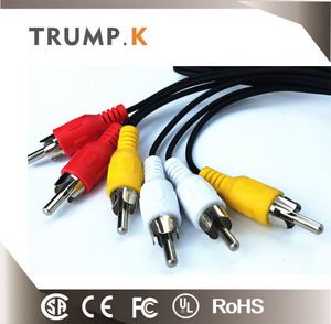 Cctv Camera Bnc Video Extension Cable Plus Dc Power For Cctv Camera