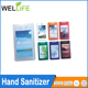 wholesale price FDA approved 62% ethyl alcohol 20ml pen or credit card shape hand sanitizer