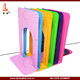 "Wholesale Colored L Sharped 9"" Metal Bookends Type Book Stand"
