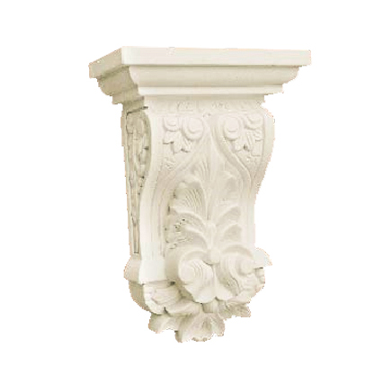 High quality polyurethane moulding HD-C01339 PU Decorative Corbels