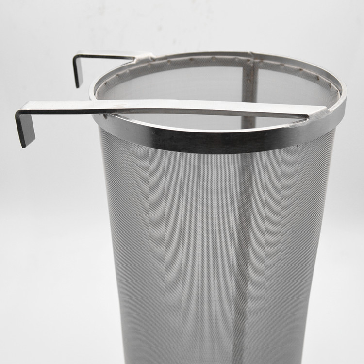 300 micron stainless steel hop filter spider for home brewing