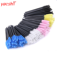 yaeshii Eyelash Mascara Brushes Disposable Eye Lash Wands Applicator Eyelash Extension Brush