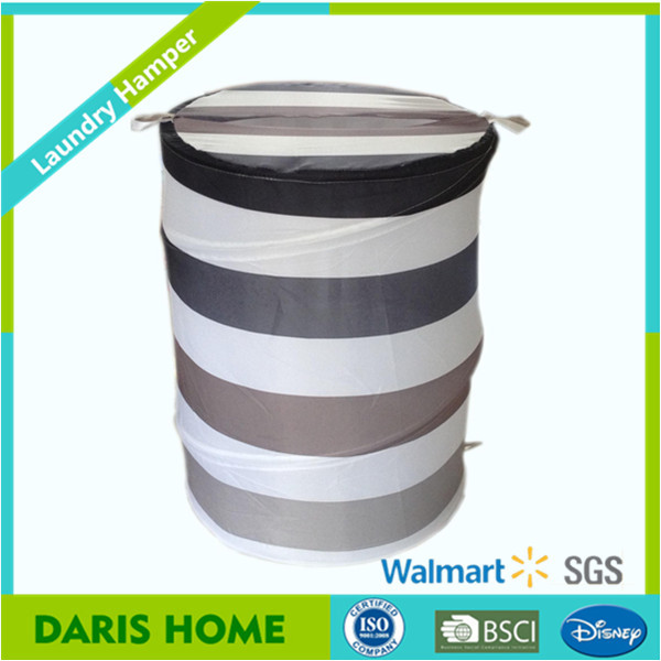 Domestic Foldable Seagrass Laundry Basket Folding