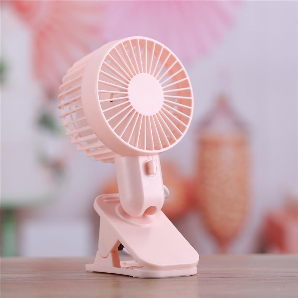 2-Speed Wind USB Table Stand Fan ,Coohole Protable Double Turn Leaves Fan Electric Fan USB Table Stand Fan
