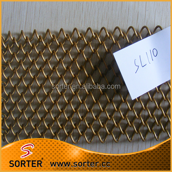 steel metal wire mesh screens for fireplace