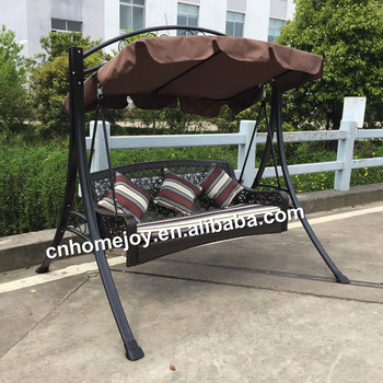High Quality 3 Seater Swing Chair Plastic Swing Seat Adult Swing
