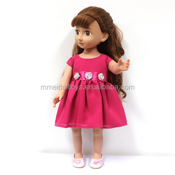 18 Inch Girl Doll Clothes Tutu Skirt T-shirt Doll Dancing Dress Wholesale