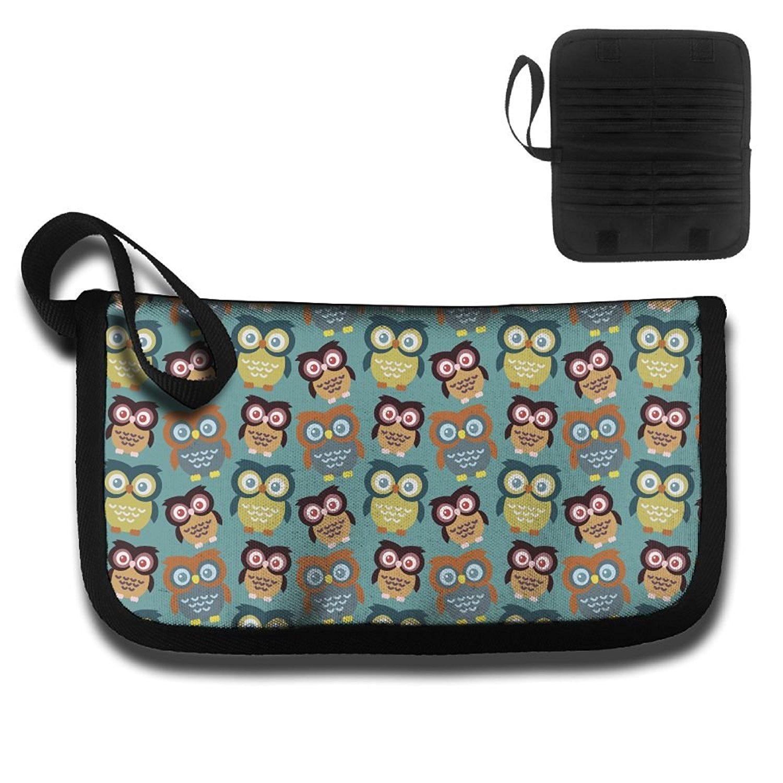 Cartoon Owl Vector Custom Images Business Card Holder Name Case
