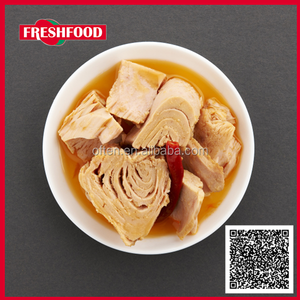Canned seafood skipjack light meat canned tuna fish shredded 140g