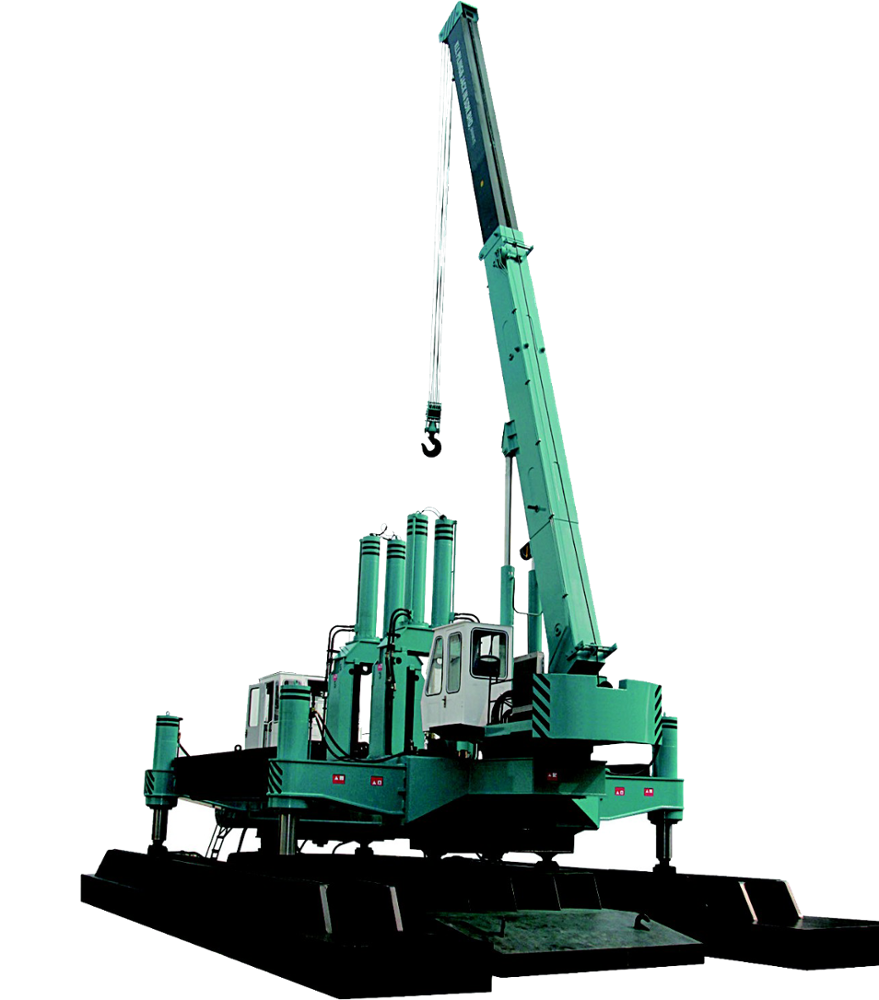 Foundation Piling Machine/ Hydraulic Press Construction Machine/ Foundation  Piling Equipment - Buy Foundation Piling Machine,Hydraulic Press