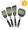 Amazon hot selling food grade silicone spatula set kitchen utensil set