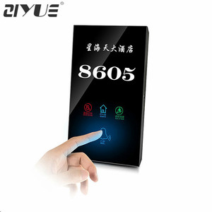 220v Digital Doorbell Switch LED Hotel Door Bell System for Hotel Guest Room Touch Style
