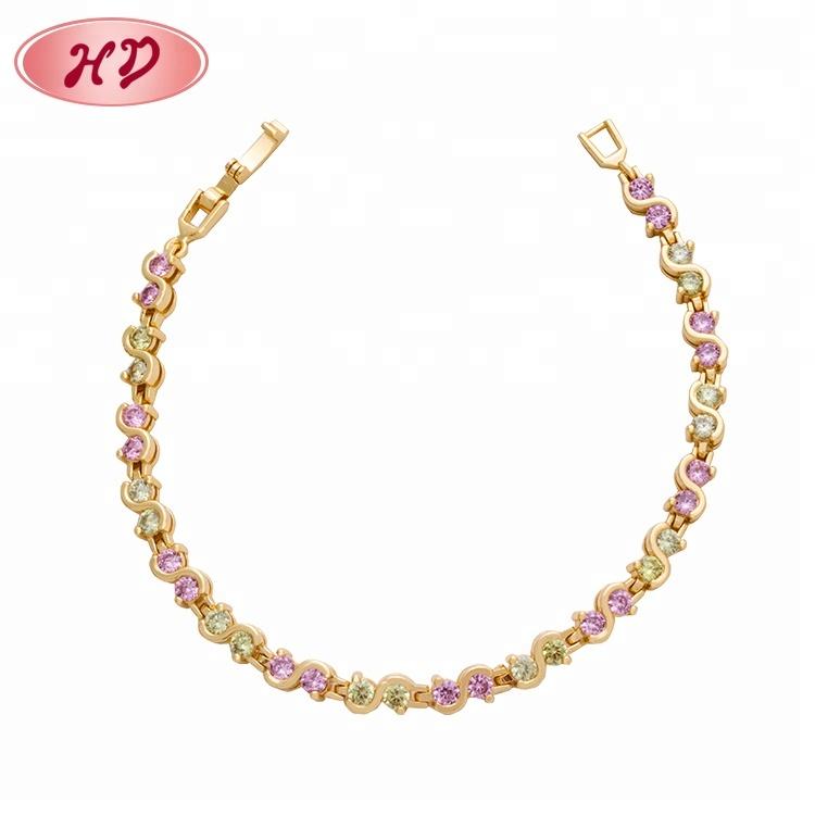 922e5daa0aae 2019 venta al por mayor de moda brazalete barato pulsera de diamantes joyas