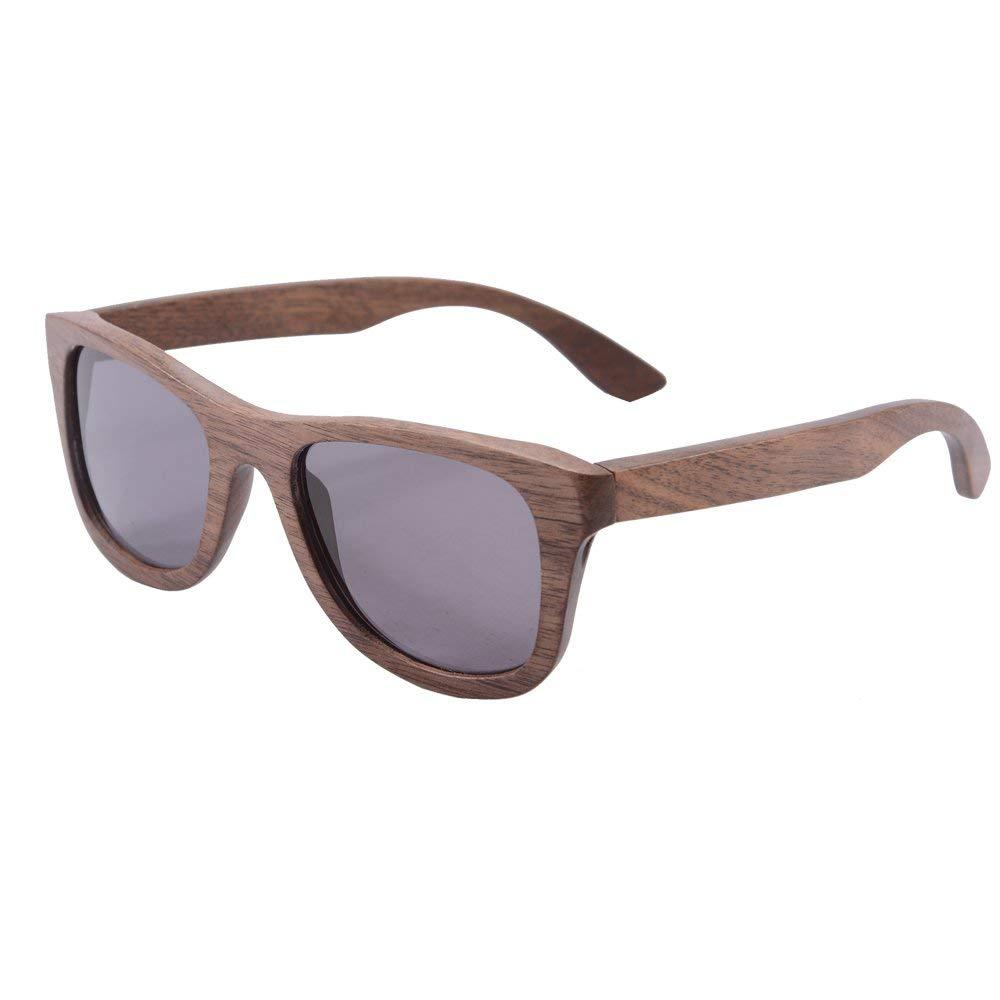 25ecb13705 Get Quotations · Genuine Handmade Wood Sunglasses Anti-glare Polarized  Bamboo Layer Eyewear-Z6016