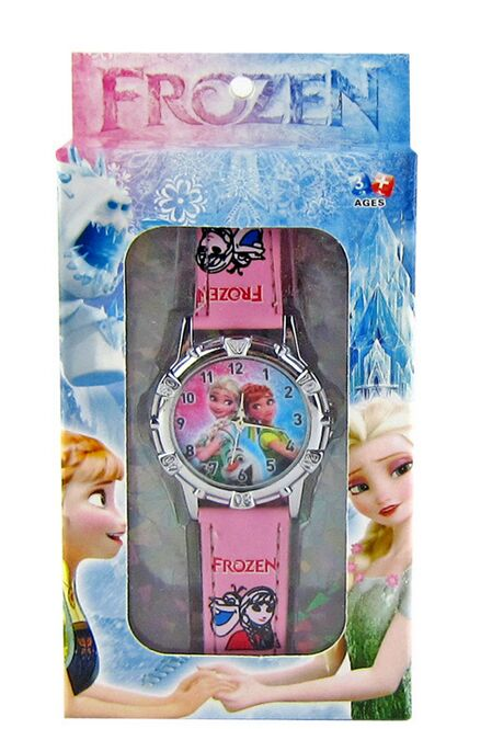 1pcs Fashion Quartz Wristwatches,New Style elsa and anna watch with box Kids Cartoon Watch with box