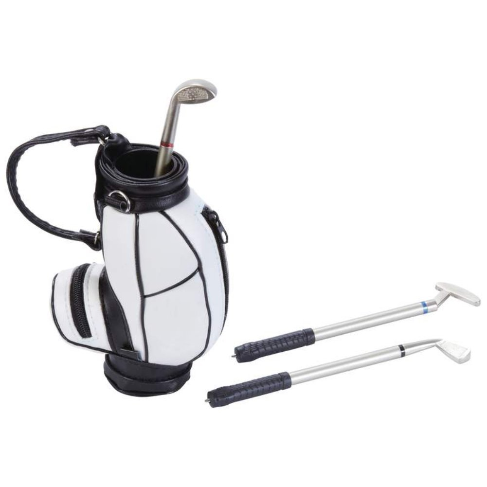 L'Davinchi™ Mini Golf Bag with 3 Club-Shaped Pens