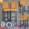 The newest style fashion design upholstery bar stools high chair
