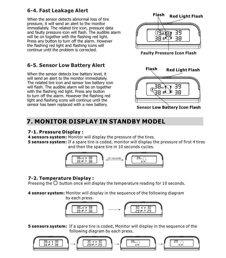 truck salecan customize unitsdigital tire gaugev xy  buy tpms sensortire pressure