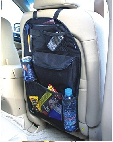 auto car BACK SEAT ORGANISER BLACK