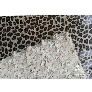 Fur flocking backing skin pu synthetic leather