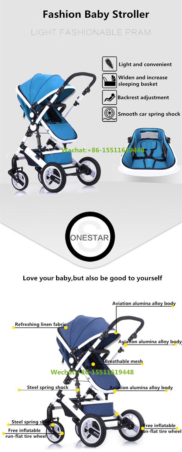 Light Travel Baby Doll Stroller With Car Seat Double Pram Poland