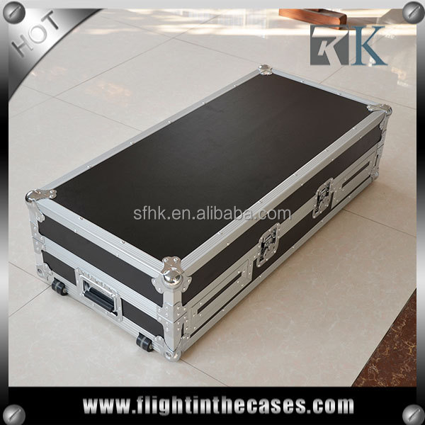 New product RK2CDJ900DJM750LTW travel case DJ flight cases for CDJ900 and DJM750 hot sale