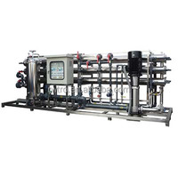 Large scale brackish water seawater desalination water purification treatment cost