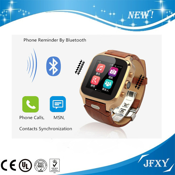 2016 OEM GPS Bluetooth Android4.4 GSM WCDMA android wifi watch phone