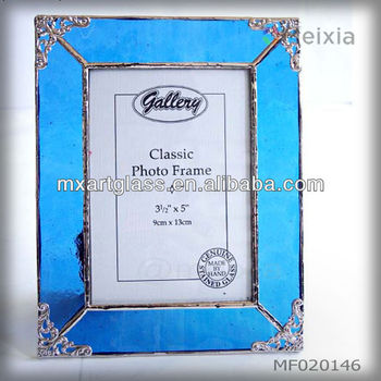 Mf020146 Wholesale Tiffany Style Stained Glass Photo Frame Picture