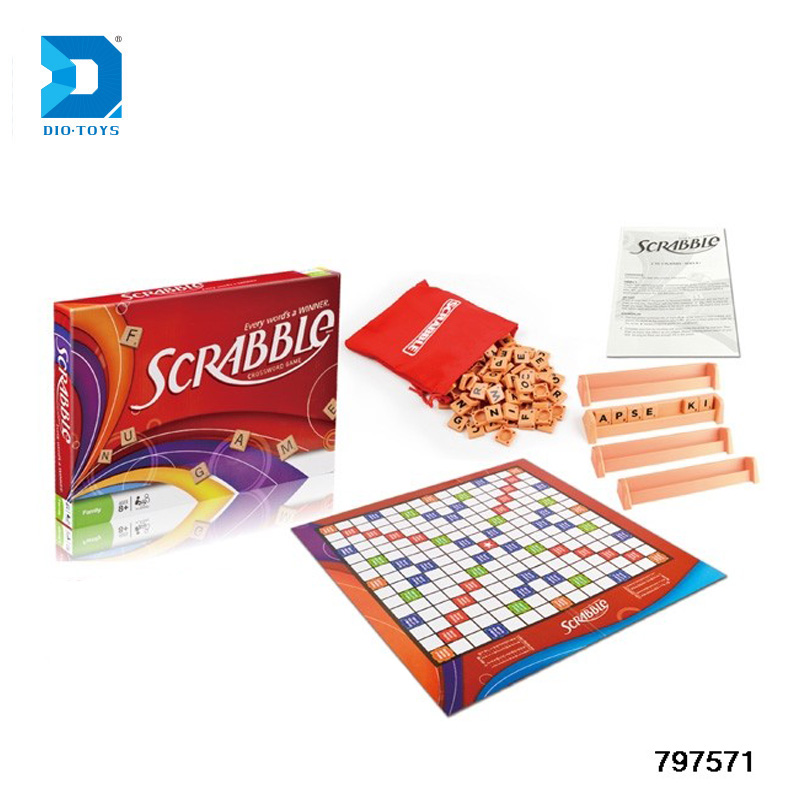 Newest Intelligent Funny Kids Toys Scrabble Board Games For Kids - Buy  Scrabble Board Games,Scrabble,Scrabble Game Product on Alibaba com