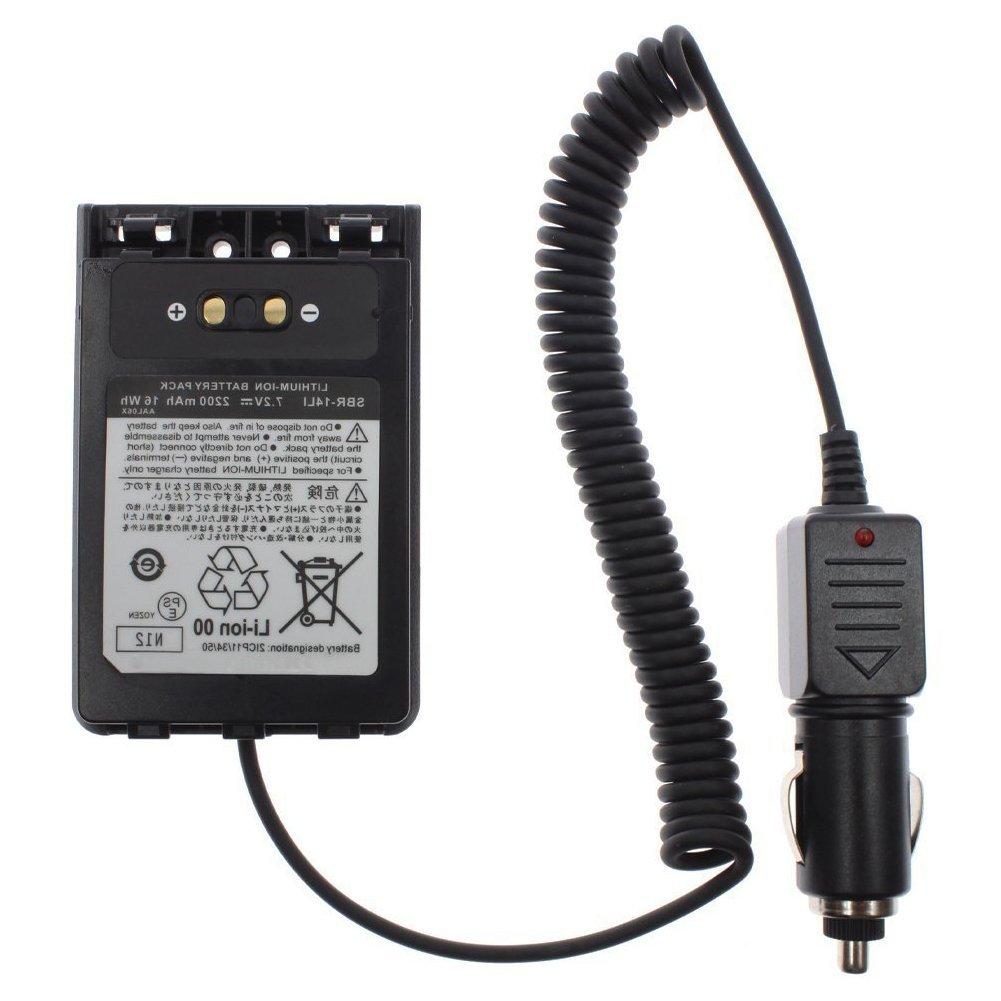 SODIAL CD-41 Desktop Charger for Yaesu Verterx Radio VX-8R VX-8E VX-8DR VX-8DE VX-8GR VX-8GE FT-1DR FT-2DR FNB-101Li FNB-102Li SBR-14Li