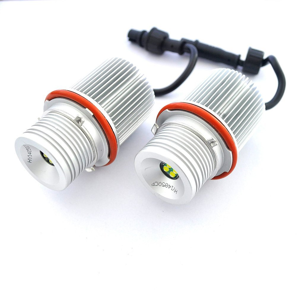 Cheap Bulb Bmw Find Deals On Line At Alibabacom Angel Light Wiring Harness 2008 Get Quotations Xlpace 1pair High Power 20w Car Led Eyes Error Free For E39 E60 Halo