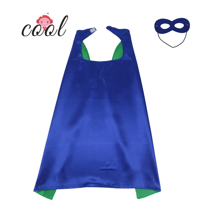 Blue and red double cloak <strong>capes</strong> for <strong>kids</strong> blue <strong>superhero</strong> <strong>cape</strong>