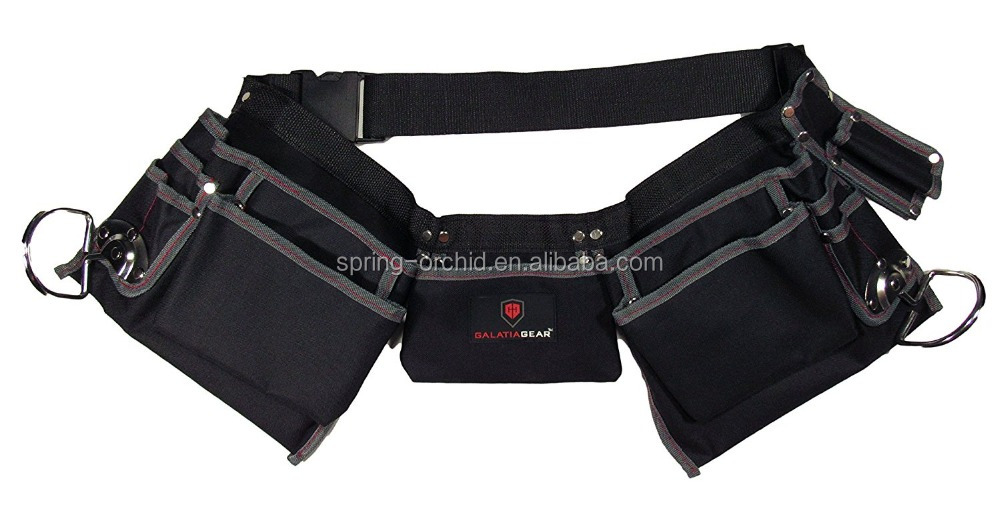 Gardening Carpenter's Tool Belt With 11 Pocket Design