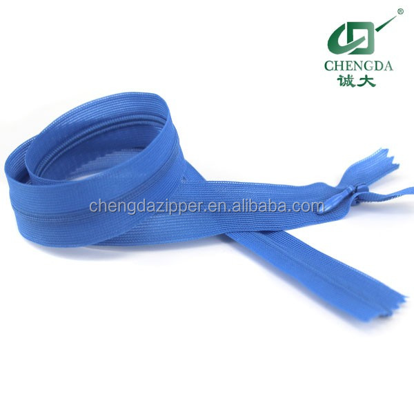 all kinds of size open end and close end spiral zip