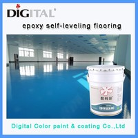 Digital Color epoxy floor paint colors Concrete putty price
