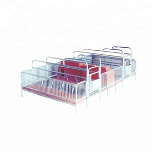 2018 Baixin High Quality Durable Long Life Service PVC Board Sow Gestation Crate For Livestock Farm