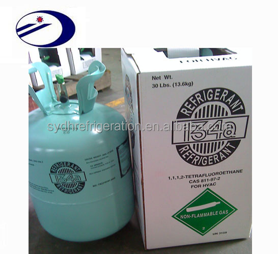 Tetrafluoroethane r134a refrigerant gas cylinders Enviremental Protection refigerant freeze gas