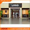 Jova offer clothing shop table wood clothing display furniture retail kiosk