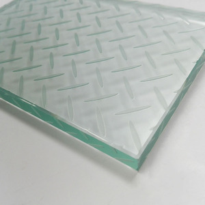 121515.PVB/EVA ANTI SLIP TEMPERED LAMINATED GLASS FLOORING