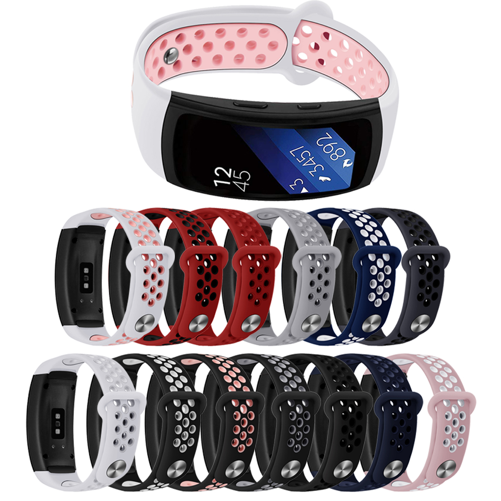 For Samsung Gear Fit2 PRO / Fit2 SM-R360 Replacement Watch Band Strap, Soft Silicone Wristband Straps Sport Band Bracelet фото