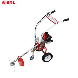 Chinese gasoline brush cutter price cheap weed cutting machine weed trimmer
