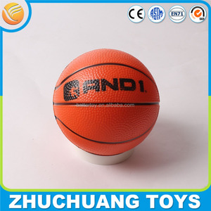 pvc toys sports ball logo printed basketball