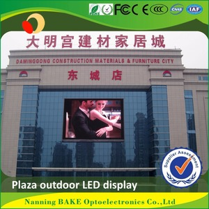 P6 P7 outdoor smd billboard advertising led display countdown to Christmas sign