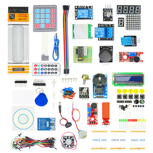 K01 Educational Robot Electronic DIY Components Kits Science Set Starter UNO R3 Learning Robot Kit